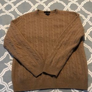 J Crew Italian cashmere cable knit sweater
